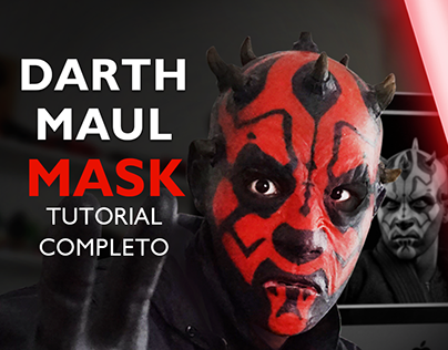 Darth Maul Latex Mask