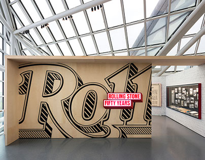 'Rolling Stone: 50 Years' - Exhibition Design