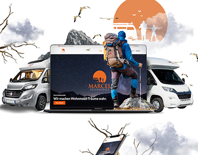 Redesign Webdesign Reisemobile / Wohnmobile Website