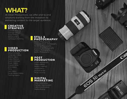 Diran Productions Company Profile