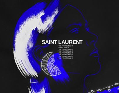Saint Laurent Private night