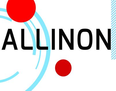 AllinonTECH's stationery design(branding) work.