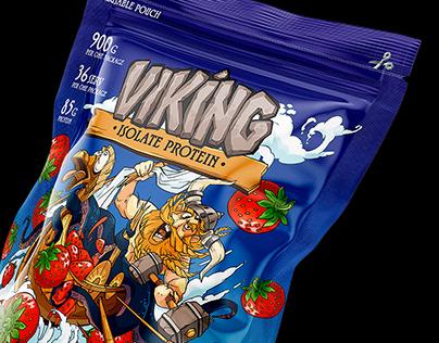 Viking power! Label protein