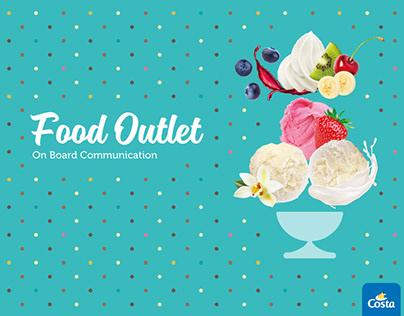 On Board Food Outlet · Costa Crociere