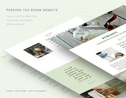 Persion Tea Room website