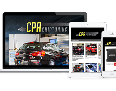 CPA Chiptuning Website design