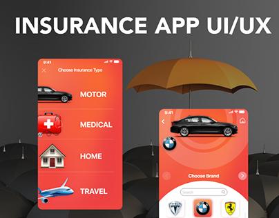 INSURANCE APP UI/UX