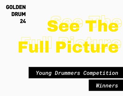 Golden Drum 24: Young Drummers - Winning Posters