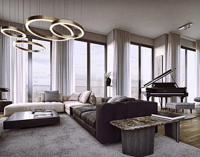 Modern interiors, Warsaw