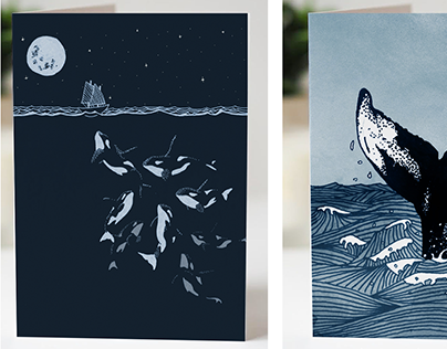 Tails of the Sea - Greeting Cards
