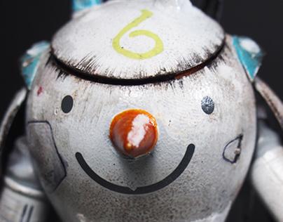 My Snowman Project.... Merry X'mas 2015