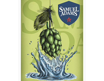 Samuel Adams Packaging Illustrations by Steven Noble