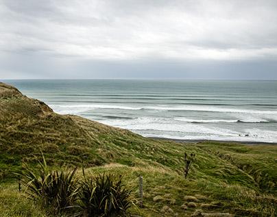 Riverton Seaside. New Zealand.