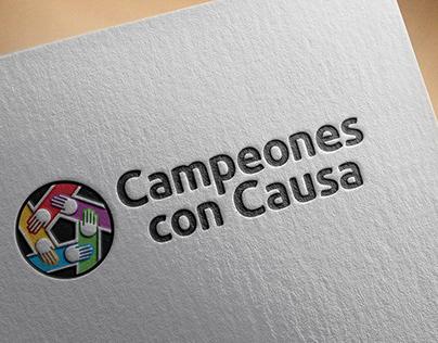 """Logotipo """"Campeones con Causa"""""""