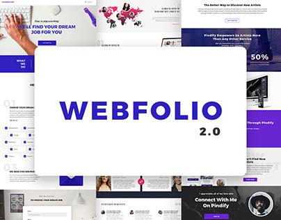 Webfolio 2.0