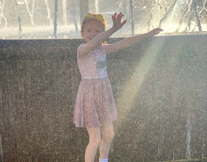 Beautiful Dance In The Sunlight