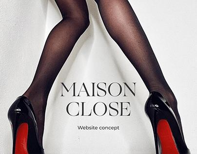 E-COMMERSE Maison Close online store