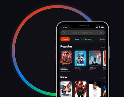 MovieCon Mobile App — UI