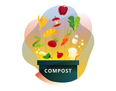 Composting Illustration