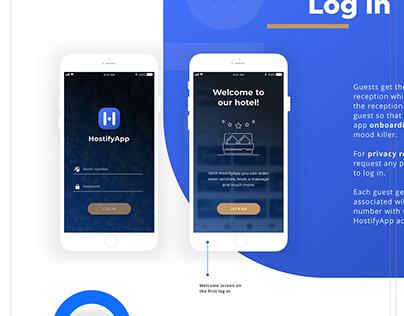 Mobile app Case Study | UI & branding