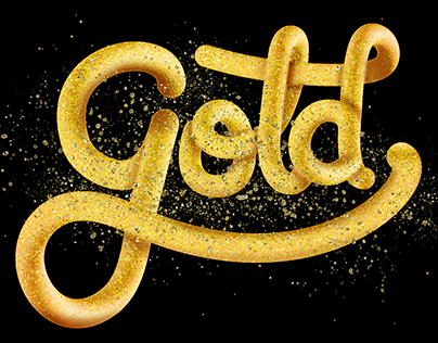 3D Lettering with Illustrator Blend Tool