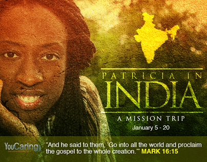 Patricia In India: Personal Fundraising Campaign