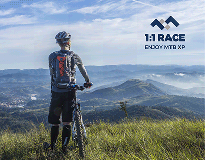 1:1 RACE - brand identity