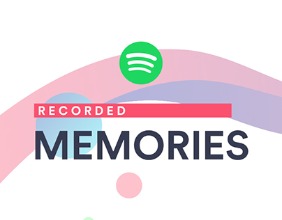 "Spotify ""Recorded Memories"" - Integrated Campaign"