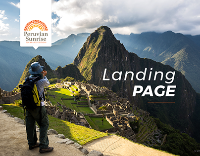 Peruvian Sunrise - Landing Page