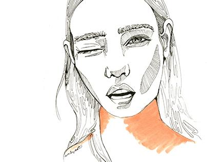i-D Cover Illustration