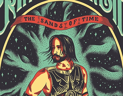 Prince of Persia: The Sands of Time vintage poster