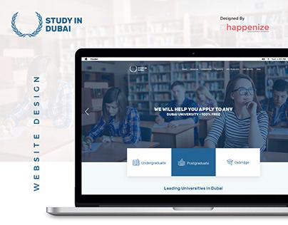 Study in Dubai - Website Design