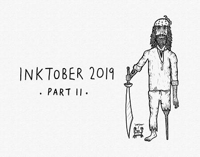 Inktober 2019 [Part II]   Ink Drawings