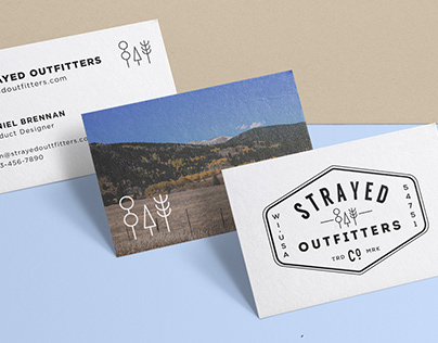 Strayed Outfitters Branding