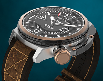 Ballast Trafalgar - CGI watch product video