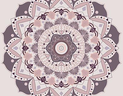 bohemian mandala design