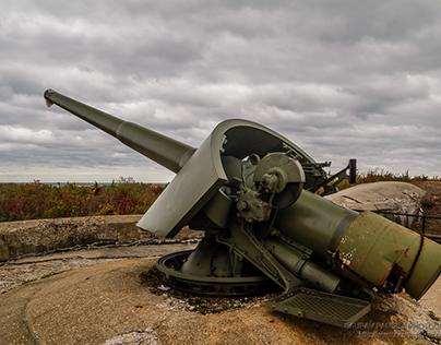 Gun at Battery Peck
