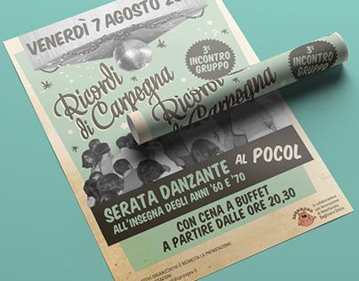"Logo & Posters ""Ricordi di Carpegna"" - Vintage Party"