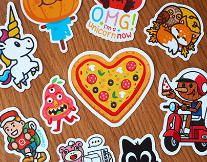 2019 Stickers Collection!