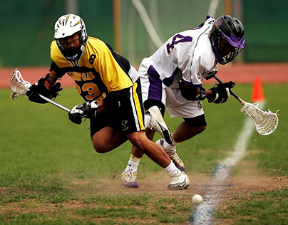 Webdesign for Lacrosse Academy