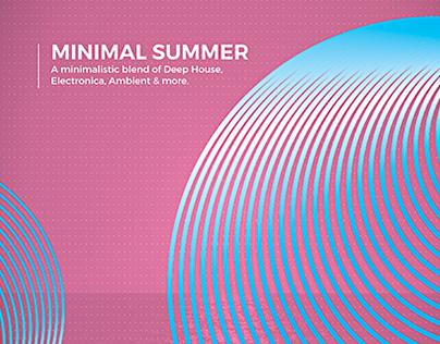 Flyer - Poster: Minimal Summer