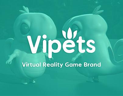 VIPETS - Virtual Reality Game Brand