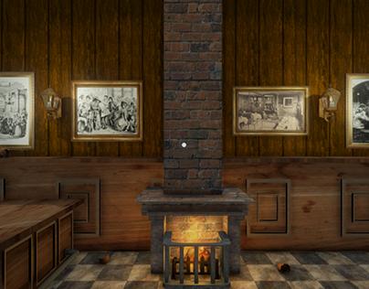 VR - London Pub in Victorian Era