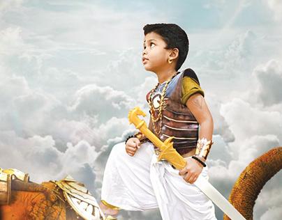 Parth The Bahubali (Poster design)