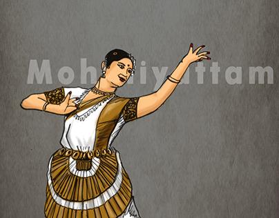 Illustrations - Indian Classical Dances