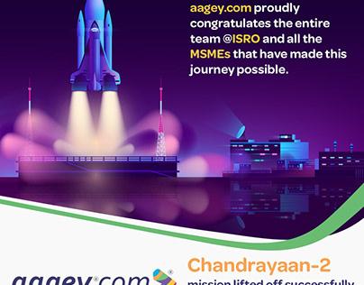 Congratulating team ISRO for Chandrayaan-2