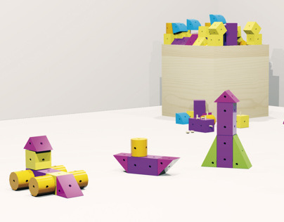 Color Blocks | Toy Design