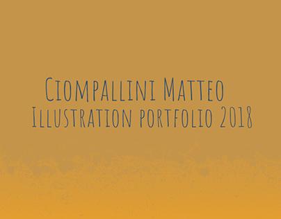 Illustration portfolio 2018