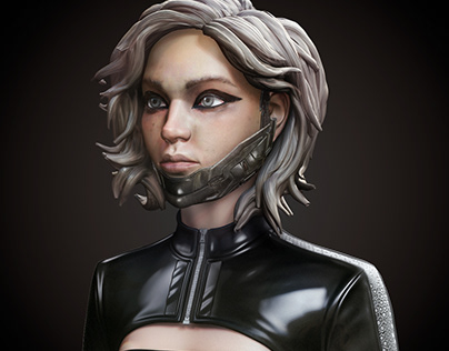 Female Cyberpunk