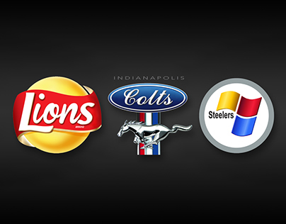 NFL Logos Redesigned As Corporate Companies